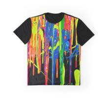 DRIPPING PAINT Graphic T-Shirt