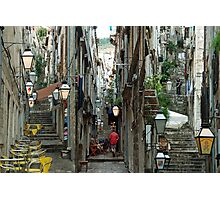 A collage of the streets of Dubrovnik (Croatia) Photographic Print