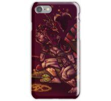 Salad Faerie & Juggernut-a-saur iPhone Case/Skin