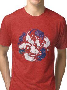 Space Cats- Version 2 Tri-blend T-Shirt