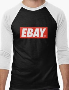 eBay OBEY Men's Baseball ¾ T-Shirt