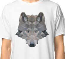 Low Poly Wolf Classic T-Shirt
