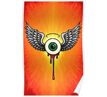 Winged Eye Poster