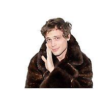Matthew Gray Gubler being adorable Photographic Print