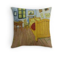 Van Gogh - Bedroom in Arles Throw Pillow