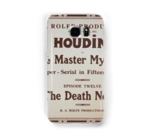 Performing Arts Posters Houdini in The master mystery a super serial in fifteen episodes 0252 Samsung Galaxy Case/Skin