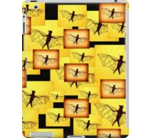 Yellow Bats iPad Case/Skin