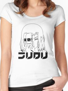 FLCL - Mamimi Camera Women's Fitted Scoop T-Shirt