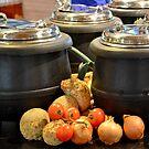 Soup-kettles by Arie Koene
