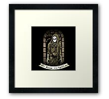 The King in Yellow Framed Print