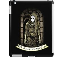 The King in Yellow iPad Case/Skin
