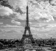 Paris, Eiffel Tower from Trocadero by Sarah Abernethy
