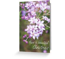 Have a beautiful Christmas. Greeting Card