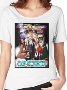 LOUIS THEROUX GANGSTA RAP ALBUM COVER WEIRD WEEKENDS Women's Relaxed Fit T-Shirt