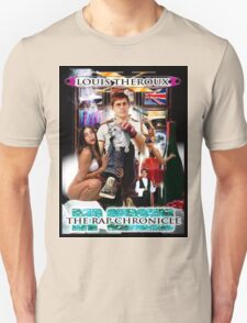 LOUIS THEROUX GANGSTA RAP ALBUM COVER WEIRD WEEKENDS Unisex T-Shirt