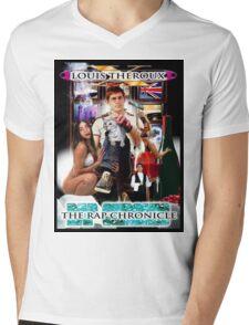 LOUIS THEROUX GANGSTA RAP ALBUM COVER WEIRD WEEKENDS Mens V-Neck T-Shirt