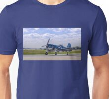 Corsair Taxi Back Version 2 – CAF HEART OF AMERICA WING 2015 AIRSHOW Unisex T-Shirt