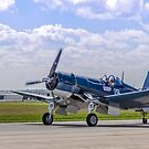 Corsair Taxi Back Version 2 – CAF HEART OF AMERICA WING 2015 AIRSHOW by Paul Danger Kile