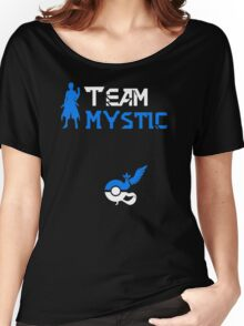 Team Mystic Blanche Pokemon Go Women's Relaxed Fit T-Shirt