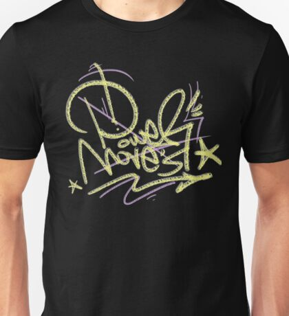power moves tipografia Unisex T-Shirt