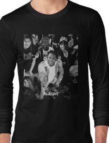 Kendrick Lamar - Alright (Music Video) Long Sleeve T-Shirt