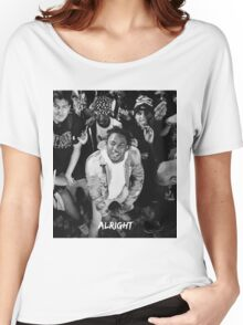 Kendrick Lamar - Alright (Music Video) Women's Relaxed Fit T-Shirt