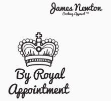 Royal Appointment - James Newton Apparel Tshirt Kids Tee