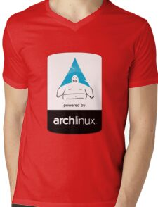 Powered By Arch Linux Mens V-Neck T-Shirt