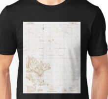 USGS TOPO Map Arizona AZ Aguila Mountains NE 310232 1990 24000 Unisex T-Shirt