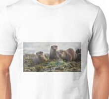 Scottish Otter family Unisex T-Shirt