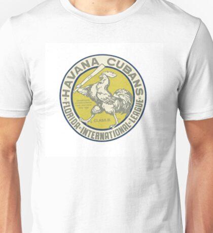 Havana Cubans Baseball Club Unisex T-Shirt