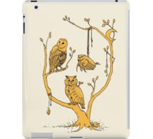 Clockwork Owls iPad Case/Skin