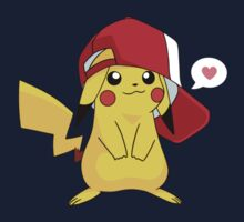 Pikachu loves you! Kids Clothes