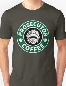Prosecutor Coffee Unisex T-Shirt