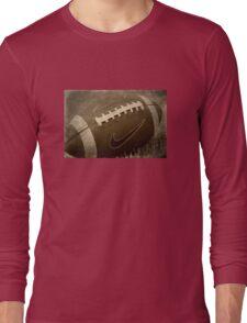 Grunge Football Long Sleeve T-Shirt