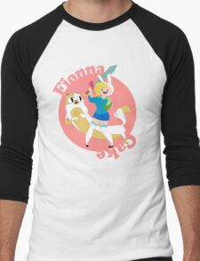 Fionna & Cake Men's Baseball ¾ T-Shirt