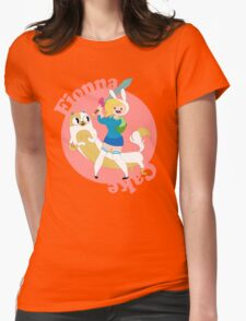 Fionna & Cake Womens Fitted T-Shirt