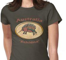Echidna-Australia Womens Fitted T-Shirt