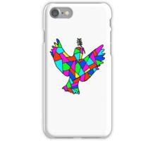 Crystalised dove iPhone Case/Skin