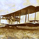 WWI Vicker's Vimy Heavy bomber 1919 by Dennis Melling