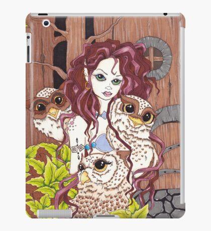 The Owl Keeper iPad Case/Skin