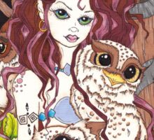 The Owl Keeper Sticker