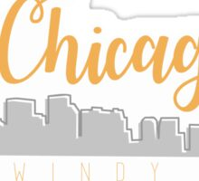 the windy city Sticker