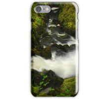 Stream on the Ingleton trail iPhone Case/Skin