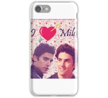 Milo Ventimiglia Love iPhone Case/Skin