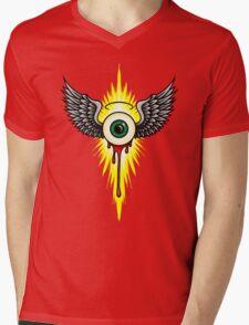 Winged Eye Mens V-Neck T-Shirt