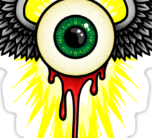 Winged Eye Sticker