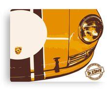 DLEDMV - Porsche Stripes Canvas Print