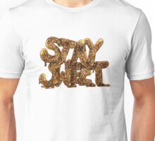 Stay Sweet Watercolor Typography Sticker Unisex T-Shirt