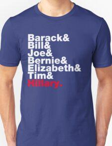 Democrats Helvetica Unisex T-Shirt